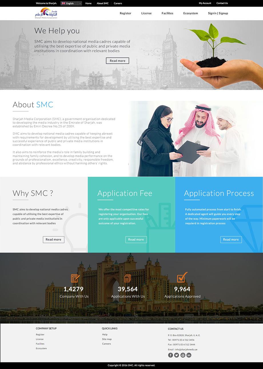 Corporate design SMC – Portfolio